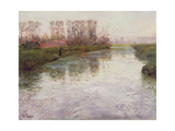 Stream, C.1890 Giclee Print by Fritz Thaulow