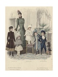 Illustration from 'Fashion Review', 1890 Giclee Print by Jules David