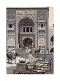 The Mosque of Nazir Khan, Lahore, C.1890 Giclee Print by Harry Hamilton Johnston