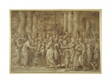 The Circumcision Giclee Print by Giulio Romano