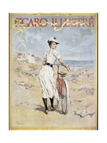 Poster Advertising the 'Figaro Illustre', 1893 Giclee Print by Frederik Hendrik Kaemmerer