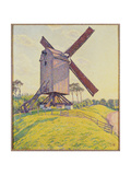 Kalf Mill, 1894 Giclee Print by Theo van Rysselberghe