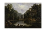 Blue Hole, Little Miami River, 1851 Giclee Print by Robert Scott Duncanson