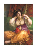 The Odalisque Giclee Print by Charles Louis Lucien Muller