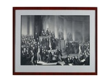 The National Assembly in Paulskirche, Frankfurt Am Main, Engraved by Eduard Meyer and Gerhard… Giclee Print by Paul Buerde