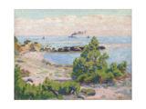 Saint Palais, Pointe De La Perriere, C.1893 Giclee Print by Armand Guillaumin