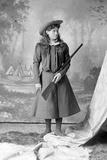 Annie Oakley, C.1897-1926 Lámina fotográfica por David Frances Barry
