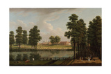 View of St. James's Park with Westminster Abbey Beyond Giclee Print by John Inigo Richards