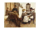 Quiet Moments, 1889 Giclee Print by Albert Chevallier Tayler