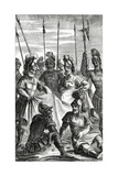 Soldiers Casting Lots for the Division of Jesus Christ's Clothes Wydruk giclee