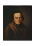 Portrait of Moses Mendelssohn, after 1771 Giclee Print by Anton Graff