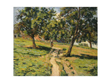 Path at Damiette, C.1886 Giclee Print by Jean Baptiste Armand Guillaumin