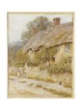 Cottage Near Wells, Somerset Giclee Print by Helen Allingham
