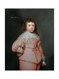 Portrait of a Young Boy Thought to Be Lucius Cary, 3rd Viscount Falkland, C.1637 Giclee Print by Cornelius Janssens van Ceulen