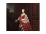 Portrait of Queen Caroline Wilhelmina of Brandenburg-Ansbach as Princess of Wales, 1720s Giclee Print by Enoch Seeman