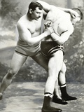 William Muldoon and Clarence Whistler, Greco-Roman Wrestlers, 1881 Photographic Print