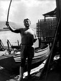 Malcolm Lowry Lámina fotográfica