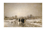 Returning from Market Giclee Print by Ludwig Munthe