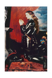 Joan of Arc at Prayer, 1620 Giclee Print by Peter Paul Rubens