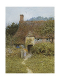 Old Cottage, Witley Giclee Print by Helen Allingham