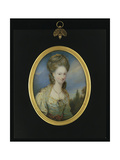 Portrait of Elizabeth Moffat, Lady Mills Giclee Print by William Grimaldi