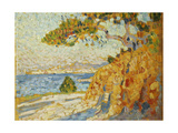 Countryside at Noon, 1895 Giclee Print by Theo van Rysselberghe