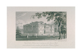 View of York House and Green Park, C.1800 Giclee Print by Samuel Rawle