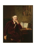 Portrait of John Hunter Giclee-trykk av Sir Joshua Reynolds