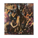 The Flaying of Marsyas, C.1576 Giclee Print by  Titian (Tiziano Vecelli)