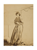 Portrait of Jane Morris, 1865 Giclee Print by  John R. Parsons and D. G. Rossetti