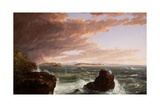View across Frenchman's Bay from Mt. Desert Island, after a Squall, 1845 Giclee Print by Thomas Cole
