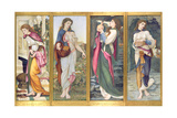 The Labours of Psyche, 1873 Giclee Print by John Roddam Spencer Stanhope