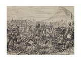 The Zulu War: the Field of Isandlwana Revisited, 1879 Giclee Print by Melton Prior