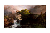 A Mountain Stream, 1869 Giclee Print by Thomas Moran
