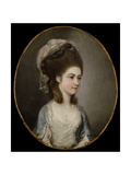 Portrait of a Lady, Traditionally Identified as Miss Mary Cavendish Giclee Print by Thomas Hickey