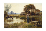 Evening Giclee Print by Henry John Yeend King