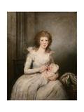 Portrait of Lady Boynton Giclee Print by Richard Cosway