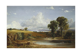 Summer Afternoon on the Hudson, 1852 Giclee Print by Jasper Francis Cropsey