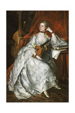 Ann Ford (Later Mrs Philip Thicknesse), 1760 Giclee Print by Thomas Gainsborough