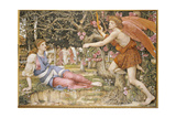 Love and the Maiden, 1877 Giclee Print by John Roddam Spencer Stanhope