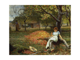 The Cider Orchard, 1890 Giclee Print by Macbeth Robert Walker