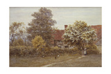 Blake's House, Hampstead Heath Giclee Print by Helen Allingham