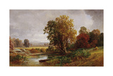 Autumn Landscape, 1882 Giclee Print by Jasper Francis Cropsey