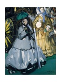Women at the Races, 1865 Giclee Print by Édouard Manet