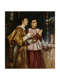 Two Acolytes Censing, 1863 Giclee Print by Simeon Solomon