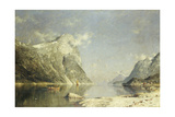 A Fjord Scene Giclee Print by Adelsteen Normann