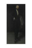 Arrangement in Black: Portrait of F.R. Leyland, C.1870 Giclee Print by James Abbott McNeill Whistler