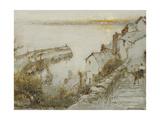 Clovelly Giclee Print by Albert Goodwin