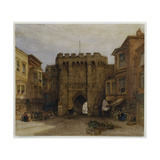 The Bar Gate, Southampton, 1888 Giclee Print by William Callow