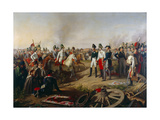Declaration of Allied Victory after the Battle of Leipzig, 19th October 1813, 1839 Giclee Print by Johann Peter Krafft